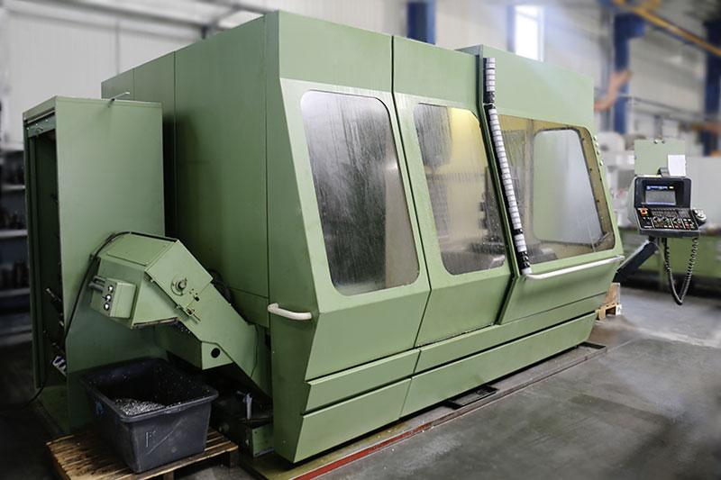 5-Achsen CNC Werkzeugfräsmaschine Deckel FP5CCT