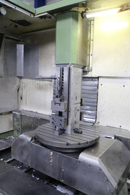 5-Achsen CNC Werkzeugfräsmaschine Deckel FP5CCT innen