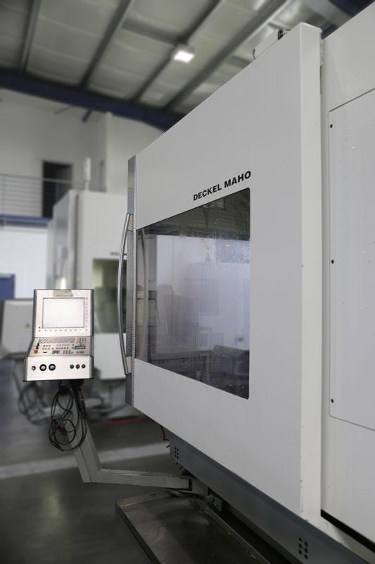 CNC BAZ DMU 80P HY Dyn. Deckel Maho