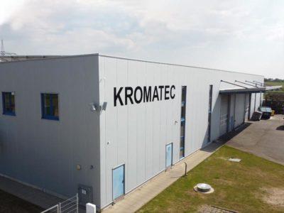 KROMATEC Maschinenbautechnik Gebäude Neckarwestheim