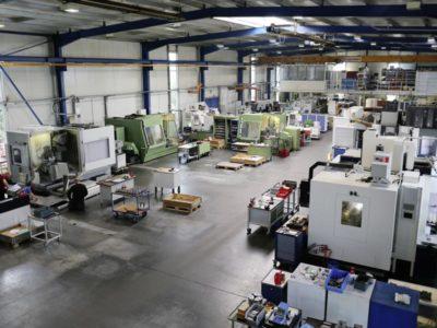 KROMATEC Maschinenbautechnik Produktionshalle
